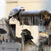 Roma nella morsa del freddo!