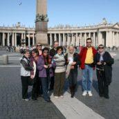 Pawel Hubka Rzym w Kwietniu 2010