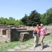 Testimonials Joanne and Bruce in Ancient Ostia