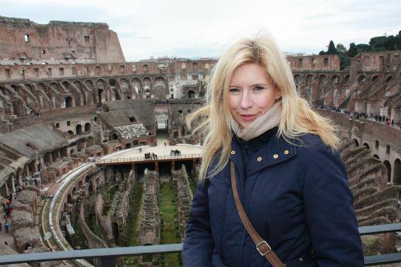 Jowita w Koloseum